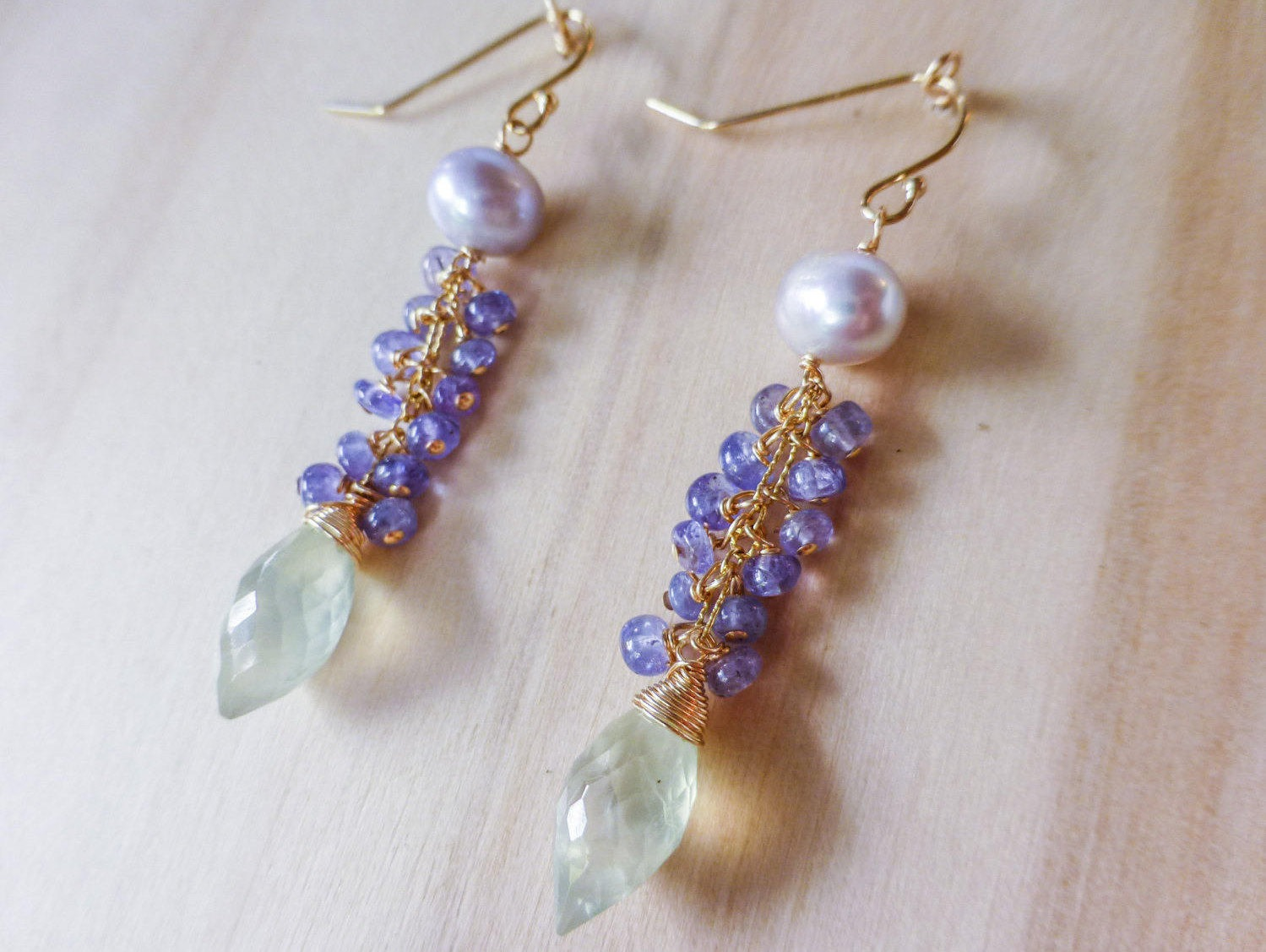 com gold product drop original by misskukie earrings notonthehighstreet delicate