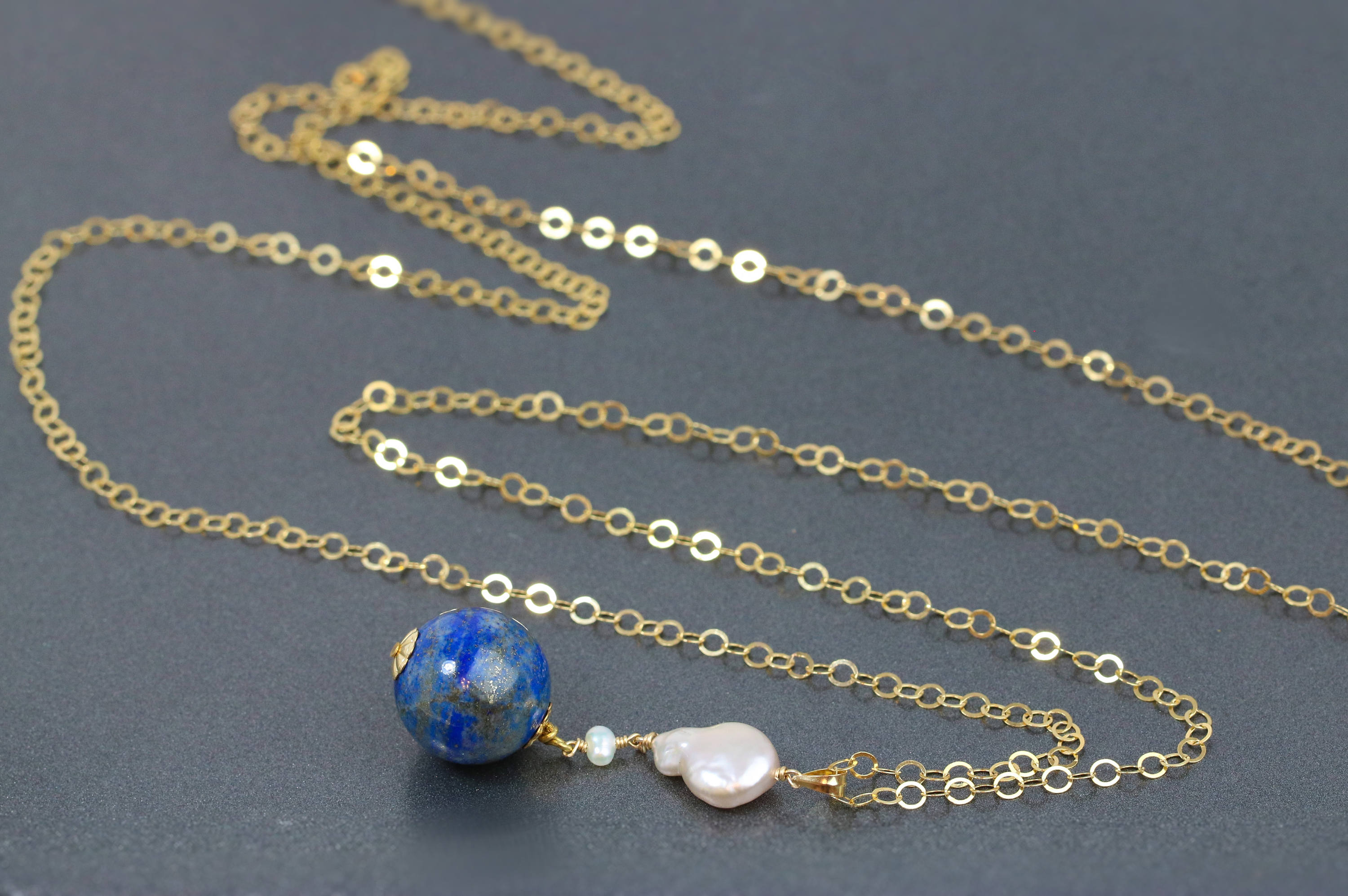 birks pendant gold necklace chic en lazuli bee lapis