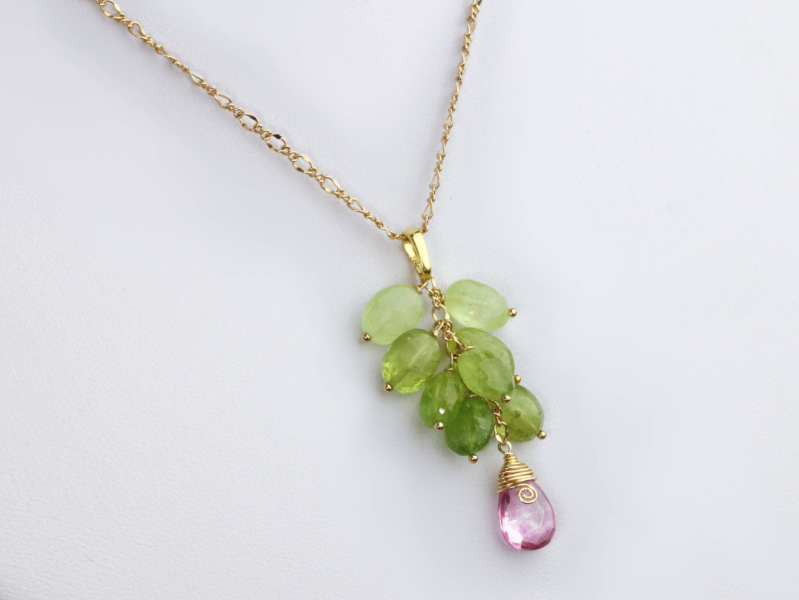 with pink the design of statement kind one watermelon green slice tourmaline and necklace a velvet