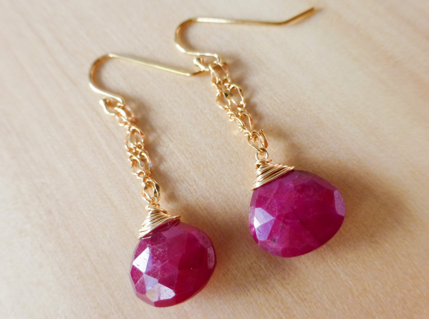 gold products copenhagen m red tundra earrings of