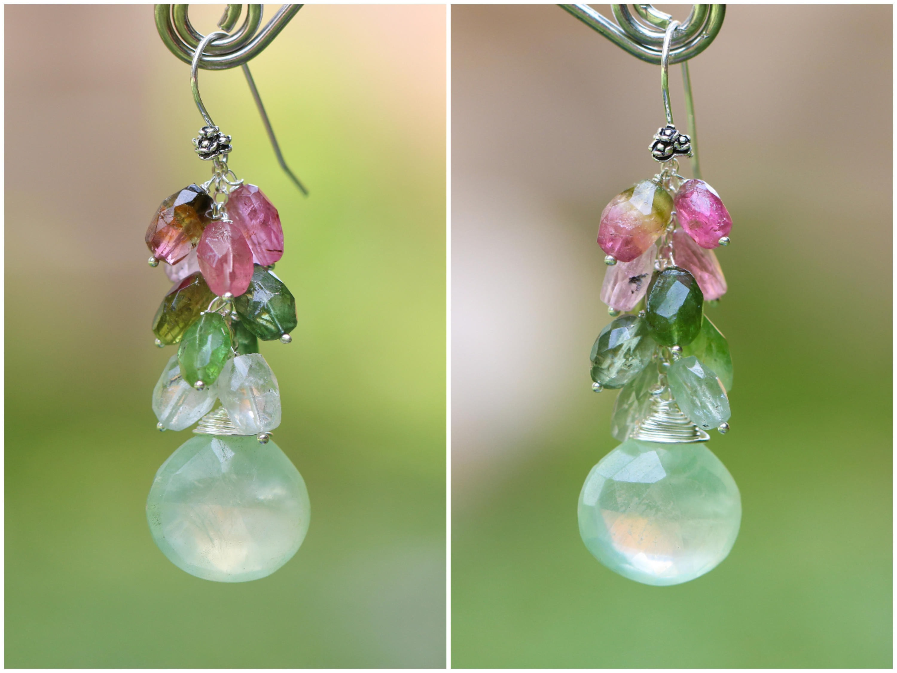 gem en go green earrings