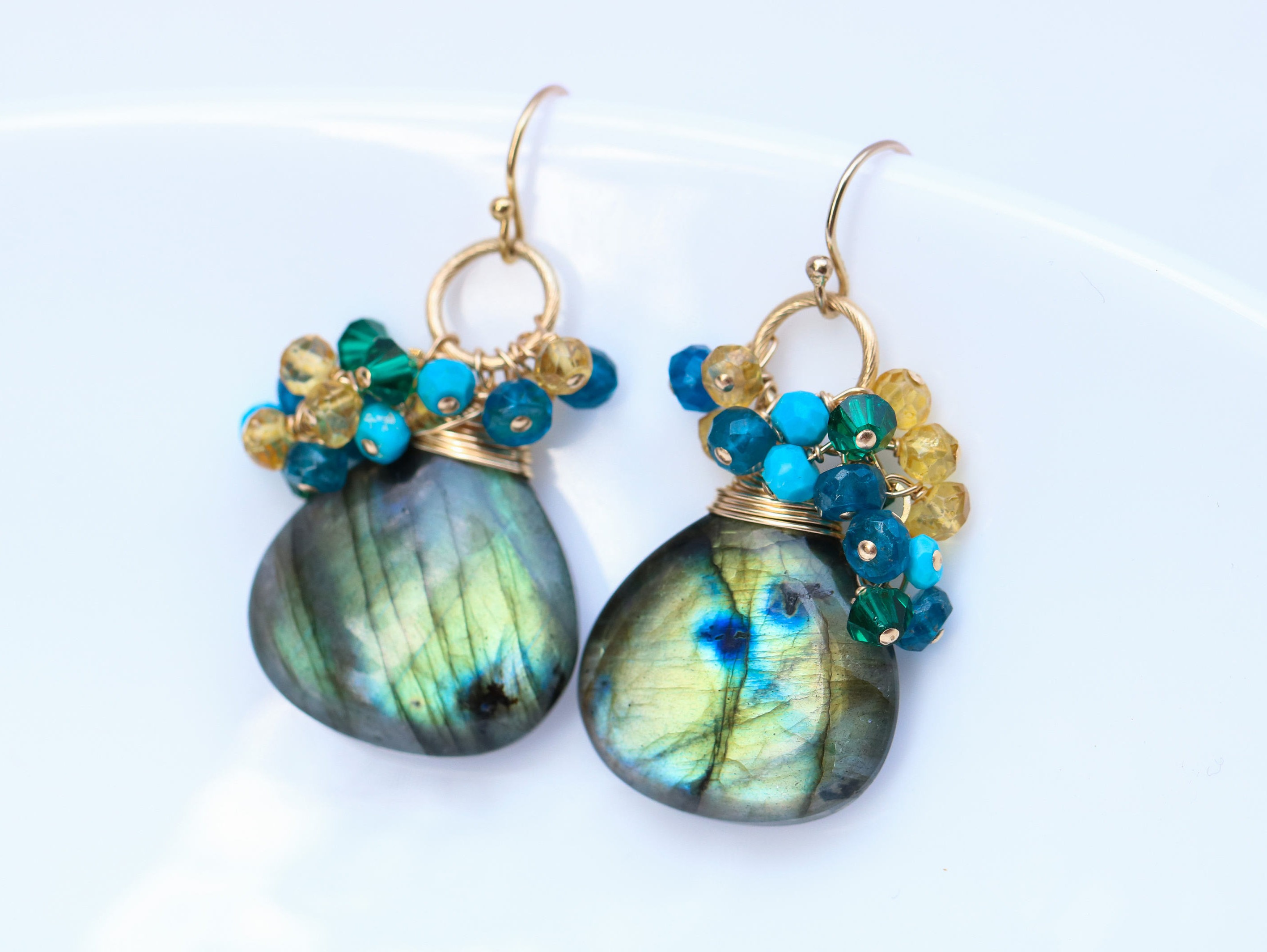 shipping moonstone jewelry free labradorite india gold dawn overlay overstock watches product today aura earrings