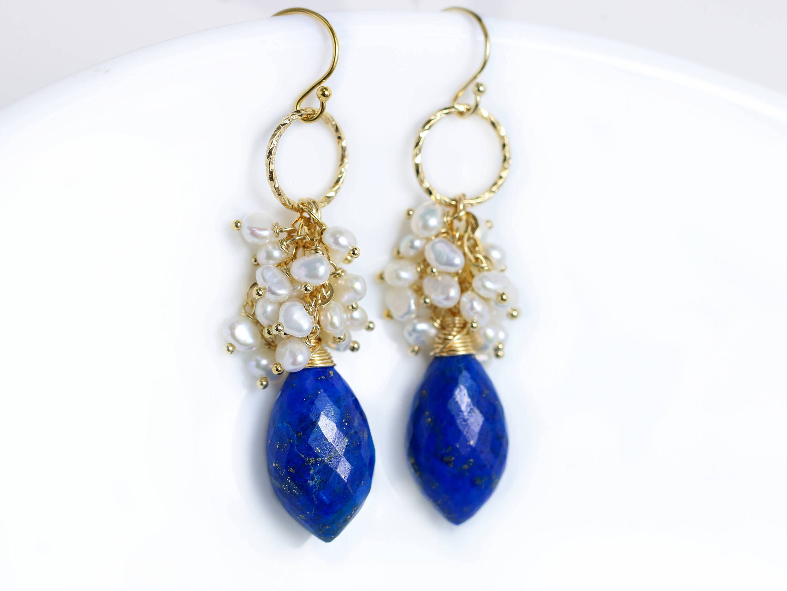 flashy cluster design topaz and apatite tanzanite the blue sunset with earrings labradorite