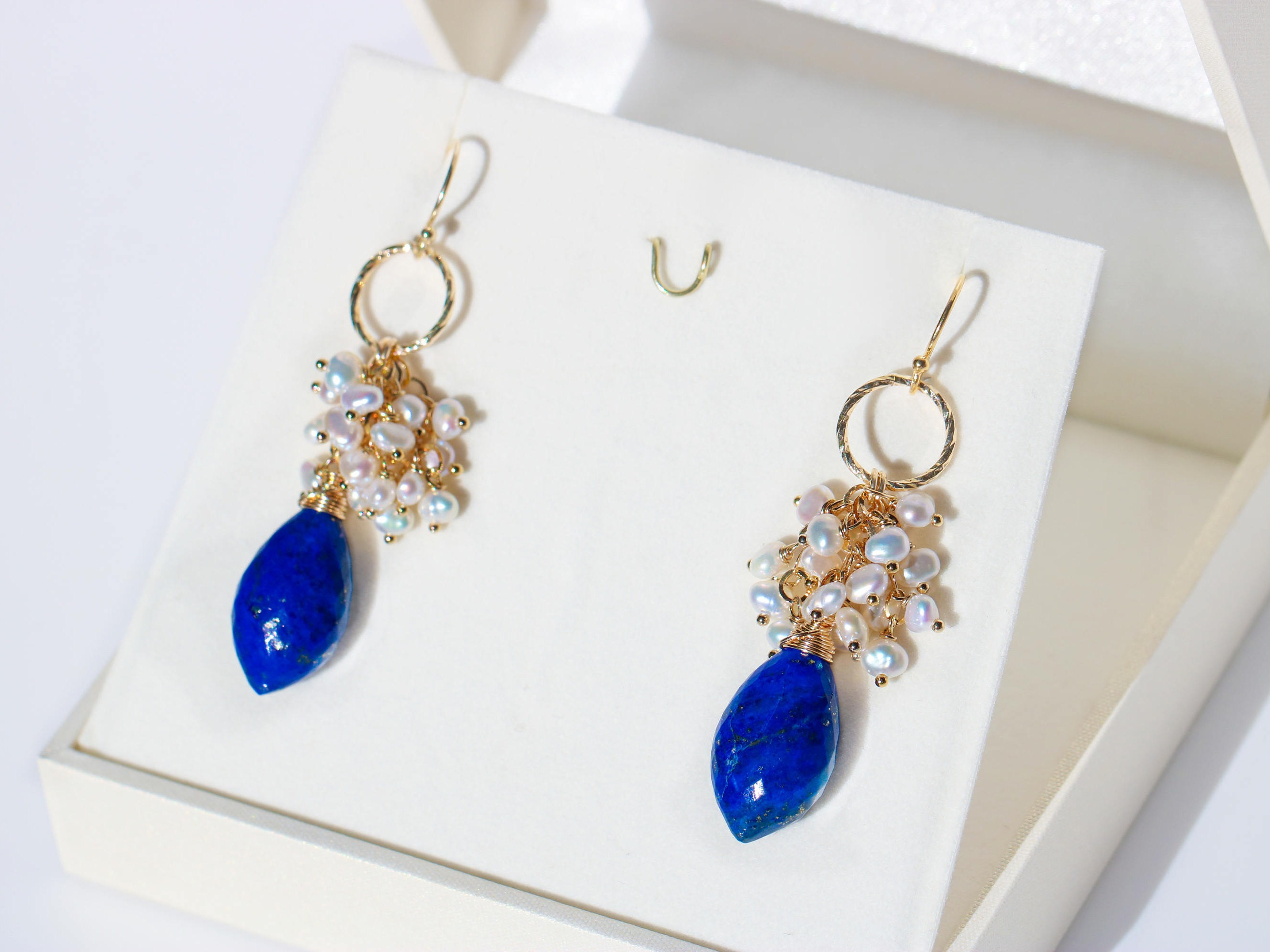 dangling gold product starlight gorgeous lazuli necklace lapis vaults occasion collection design
