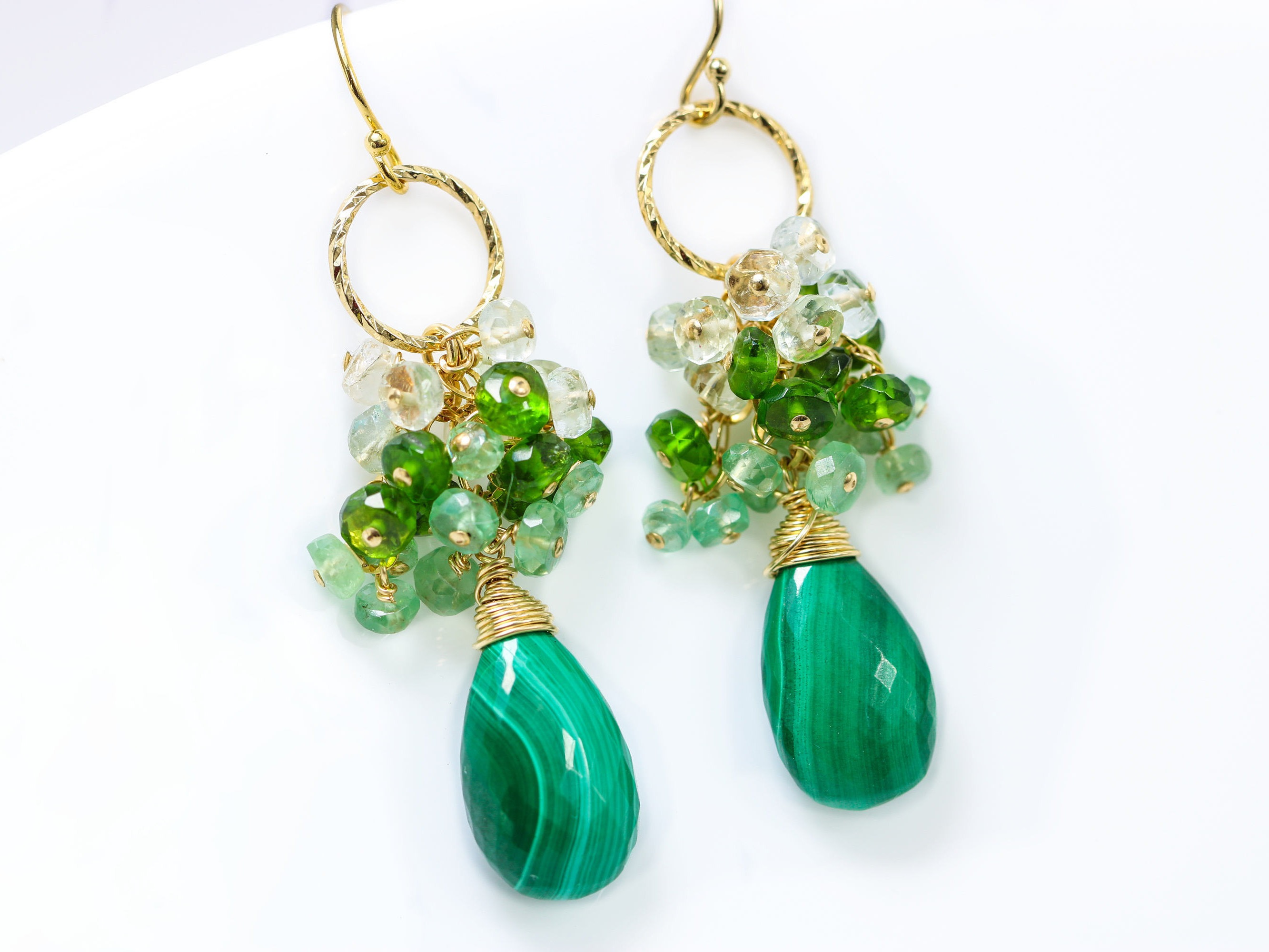 green yellow round amethyst image halo gold drop in diamond and earrings