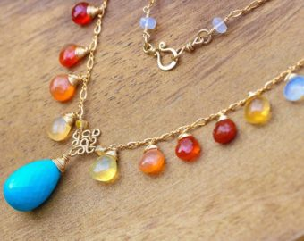 Mexican Fire Opal Jewelry